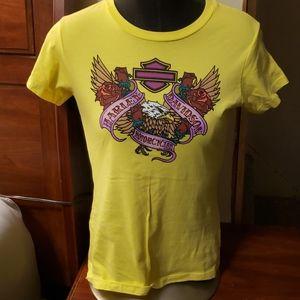 Medium harley davidson top shirt